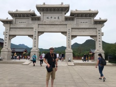 Mark at the Shaolin Temple